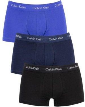 Calvin Klein Jeans  3 Pack Low Rise Trunks  men's Boxer shorts in Blue