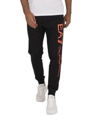 Emporio Armani EA7  Logo Joggers  men's Sportswear in Black