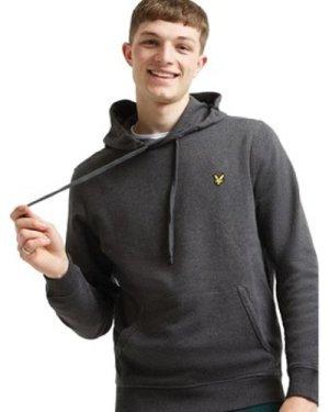 Lyle   Scott  Hoodie  men's Sweatshirt in Grey