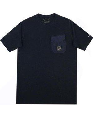 Marshall Artist  Acier T-Shirt  men's T shirt in Blue
