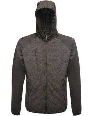 Professional  Lumen Reflective Stretch Softshell Black  men's Sweatshirt in Black