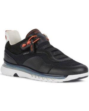 Geox  U029XA-06K85-C9999 U Levita A  men's Shoes (Trainers) in Black