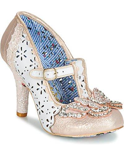 Irregular Choice  PAPILLON  women's Court Shoes in White
