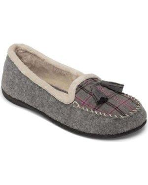 Padders  Tassel Womens Loafer Style Slippers  women's Slippers in Grey