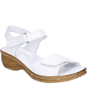 Fleet   Foster  612-WHITE-36 Linden  women's Sandals in White