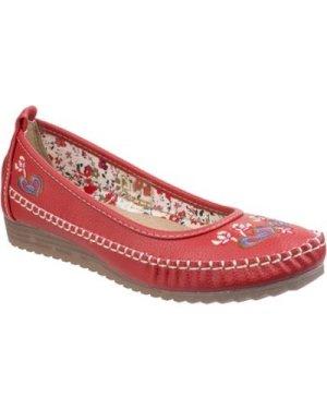 Fleet   Foster  Algarve  women's Shoes (Pumps / Ballerinas) in Red