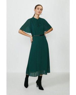 Coast Lace Tie Waist Midi Dress -, Green