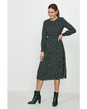 Coast Long Sleeve Fit And Flare Dress -, Black