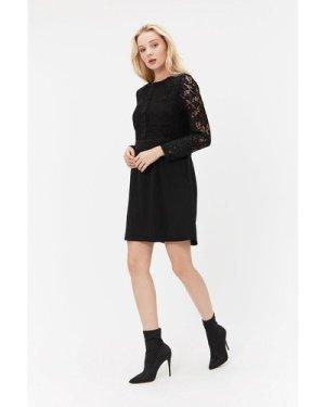 Coast Lace Patch Pocket Dress -, Black