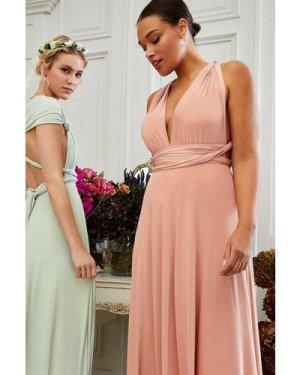 Coast Curve Multiway Jersey Maxi Dress -, Pink