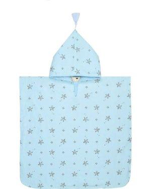 Pepito starfish bath poncho towel