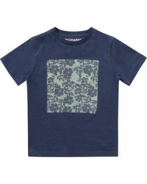 Flower mat t-shirt
