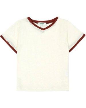 Do Two-Tone Linen T-Shirt