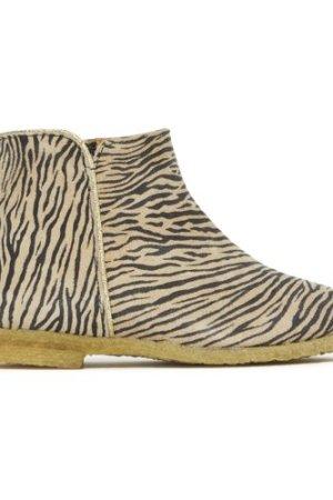 Zebra Ida Velour Boots