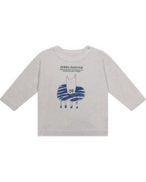 Zebra Organic Cotton Baby T-shirt
