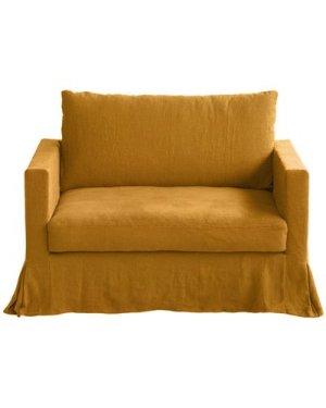 Brooklyn 1/2 Seater Sofa, Linen