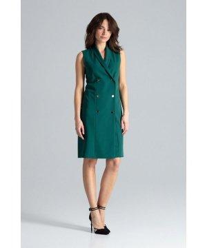 Lenitif Elegant Sleeveless Midi Dress