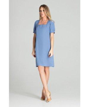 Figl Blue Spring Midi Dress
