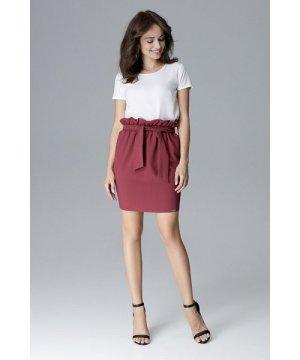 Lenitif Effective Skirt On Gum With Belt