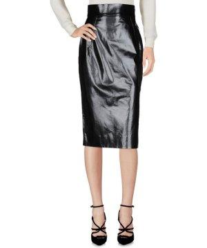 Gareth Pugh Black Leather Skirt