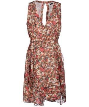 Isabel Marant Beige Floral Print Dress
