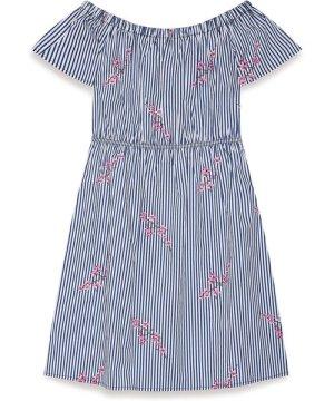Yumi Bardot Stripe Dress