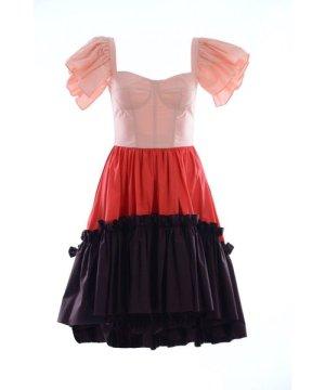Dolce & Gabbana Women Ruffle Short Dress