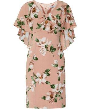 Gina Bacconi Leyna Floral Georgette Dress