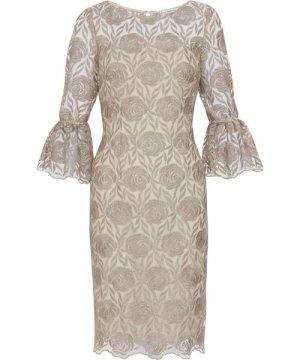 Gina Bacconi Theora Embroidery Dress
