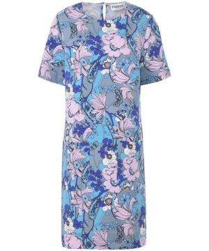 Essentiel Antwerp Turquoise Floral Design Dress