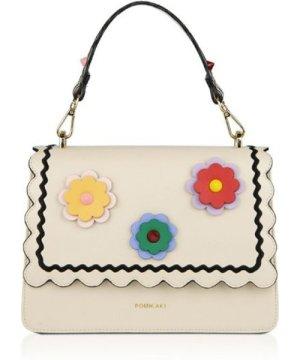 Pomikaki Handbag Gwen Flowers CREAM