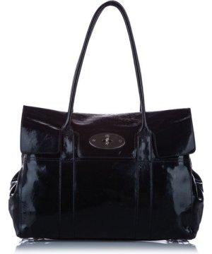 Mulberry preowned Vintage Bayswater Patent Leather Shoulder Bag Black