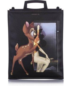 Givenchy preowned Vintage Medium Rave Bambi Tote Black