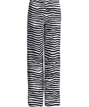 Conquista Striped Wide Leg Trousers