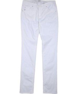 Armani Junior White Girl Cotton Trousers
