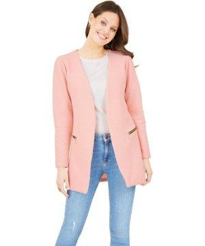 Mela London Textured 2Zip Jacket