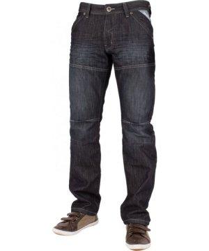 Enzo Mens Dark Wash Straight Fit Denim Jeans EZ244 | Designer Menswear