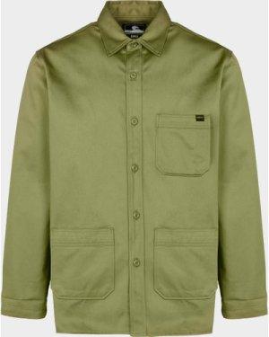 Men's Edwin Major Overshirt Green, Green