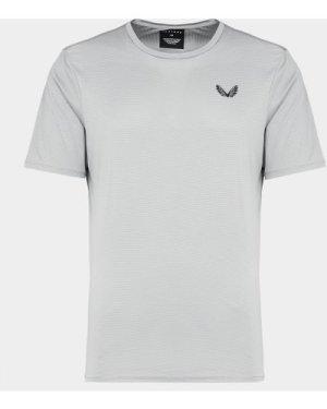 Men's Castore Basic Stretch T-Shirt Grey, Grey