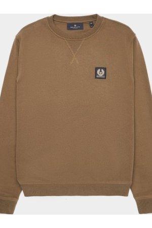 Men's Belstaff Patch Sweatshirt Green, Olive