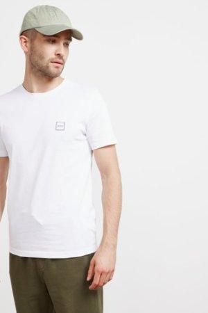 Men's BOSS Tales Short Sleeve T-Shirt White, White/White