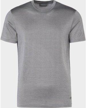 Men's Emporio Armani Merc Pin Dot T-Shirt Black, Black
