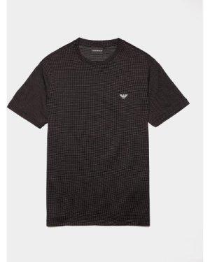 Men's Emporio Armani Pin Dot Short Sleeve T-Shirt Black, Black