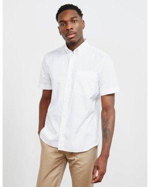 Men's HUGO Ekilio Short Sleeve Shirt White, White