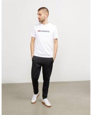 Men's Napapijri Core Logo Short Sleeve T-Shirt Men's Multi, White/Blue