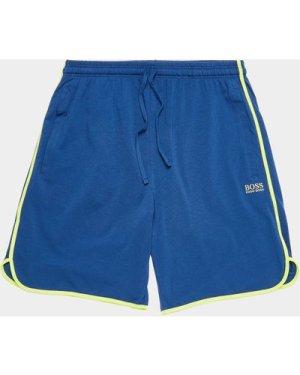 Men's BOSS Mix & Match Fleece Shorts Multi, Blue/Lime