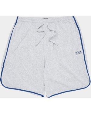 Men's BOSS Mix & Match Fleece Shorts Multi, Grey/Navy