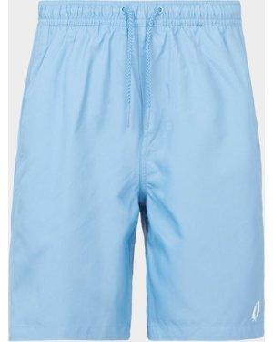 Men's Fred Perry Plain Swim Shorts Blue, Blue