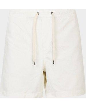Men's Polo Ralph Lauren Heavy Cord Shorts White, White/White