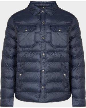 Men's Polo Ralph Lauren Recycled Terra Overshirt Jacket Blue, Navy